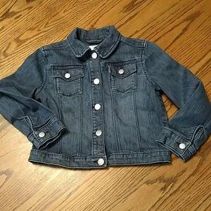 Gymboree girls denim jean jacket size 7-8 MEDIUM